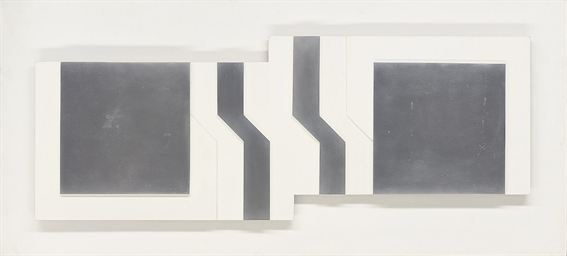 Maquette for Aluminium Relief