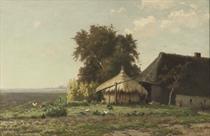 By the haystack