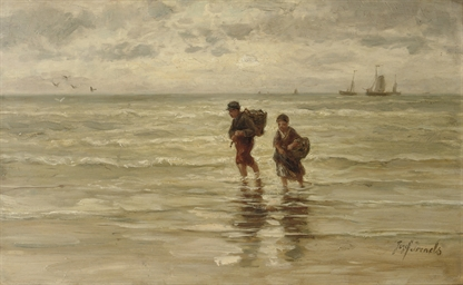 Kinderen der zee: wading in th