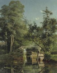 Landschap te Giethoorn: puntin