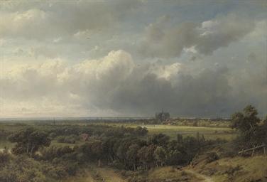 Gezicht op Haarlem: a panorami