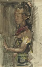 A Javanese dancer