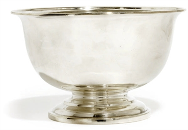 A GEORGE IV IRISH SILVER BOWL