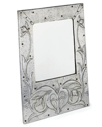 AN ARTS AND CRAFTS MIRROR