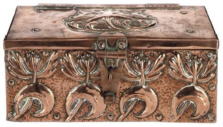 A John Pearson Copper Box