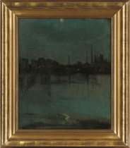 The Thames by moonlight