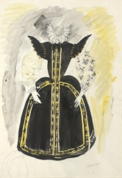 Costume design for a chorus la