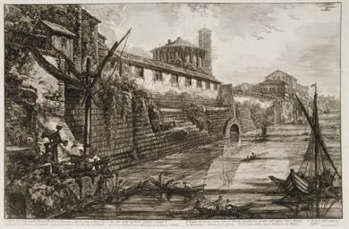 Veduta dell' Arco di Costantin