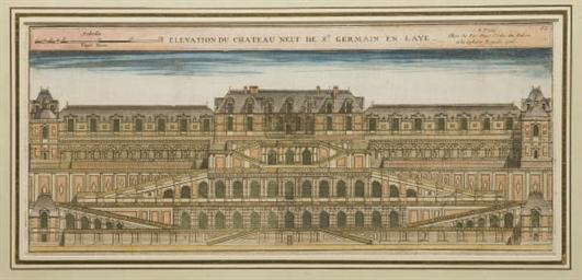 Elévation du Chateau Neuf de S