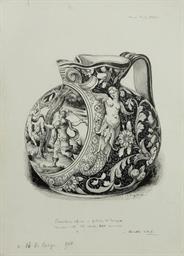 Douze études d'objets d'art co