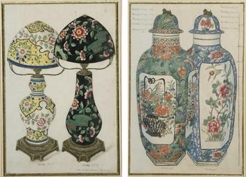 Modèles de lampes et de vases