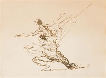 Etude de danseurs
