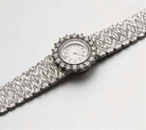 MONTRE DE DAME DIAMANTS, PAR P