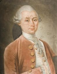 Portrait d'homme en buste port