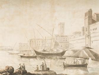Le port de Civitavecchia, des