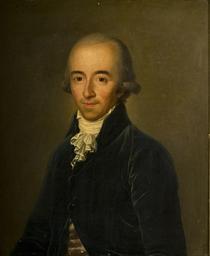 Portrait d'homme en redingote