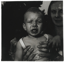Mother holding her child, N.J.