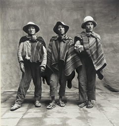 Three Standing Men, Cuzco, 194