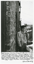 Selected images of Jack Kerouac, William Burroughs, Neal Cassady and Peter Orlovsky, 1953-1957