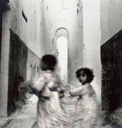 Running Children, Morocco (Rab