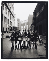 Cindy Crawford, Tatjana Patitz, Helena Christensen, Linda Evangelista, Claudia Schiffer, Naomi Campbell, Karen Mulder, Stephanie Seymour, Brooklyn, Vogue, 1991