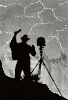Self Portrait, Monument Valley, Utah, c. 1958