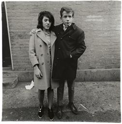 Teenage couple on Hudson Stree