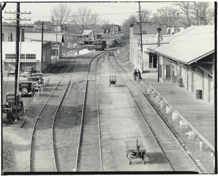 Railroad Station, Edwards, Mis