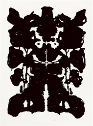 Rorschach, After Warhol, 1999,