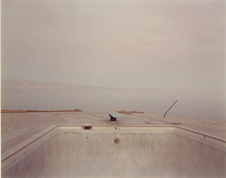 Diving Board, Salton Sea, 1983