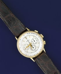 A chronograph wristwatch, by M