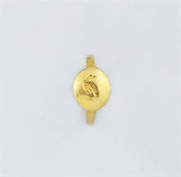 A Hellenistic gold intaglio ri