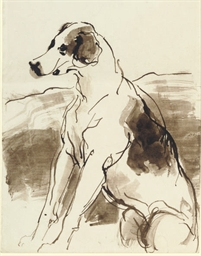 Study of a hound