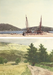 The harbour at Inveraray, Argy