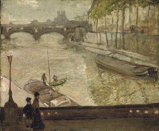 On the Seine, Paris