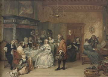 The elegant dinner party