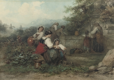 Women by the well