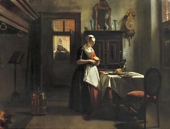 An Amsterdam orphan girl prepa