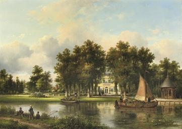 Huize Eemwijk te Voorburg: a s