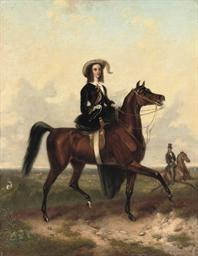An equestrian portrait