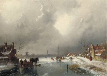 A winter's day on the ice