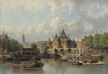 The Nieuwmarkt with The Waag,