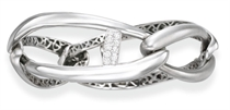 A DIAMOND AND WHITE GOLD BRACELET, BY OLIVIA WILDENSTEIN