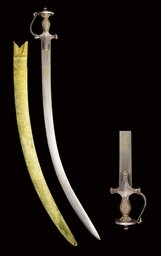 A SAFAVID SWORD (SHAMSHIR)