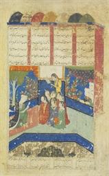 BAHRAM BUILDS SEVEN PAVILIONS
