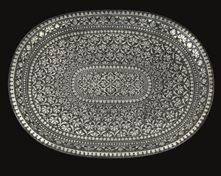 A BIDRIWARE TRAY, INDIA, 18TH