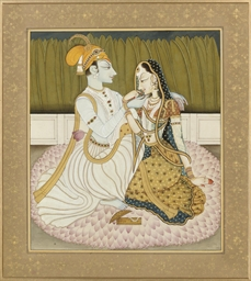 A YOUNG COUPLE IN LOVE, KANGRA