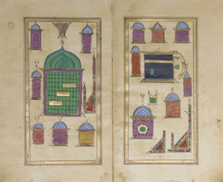 TWO OTTOMAN PRAYERBOOKS, TURKE
