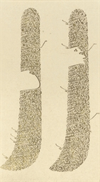 A GROUP OF CALLIGRAPHIES, TURK