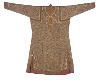 AN EMBROIDERED COAT, KASHMIR,